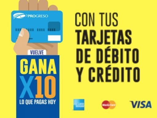 Banners – Banco del Progreso – Vuelve GANA X10