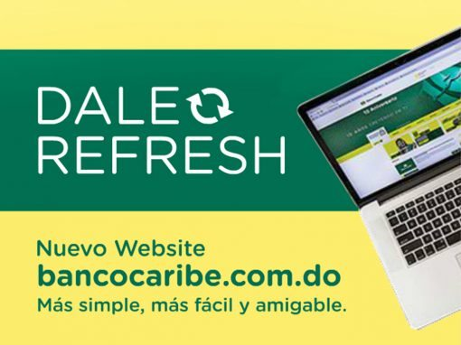 Banners – Banco Caribe – Dale Refresh