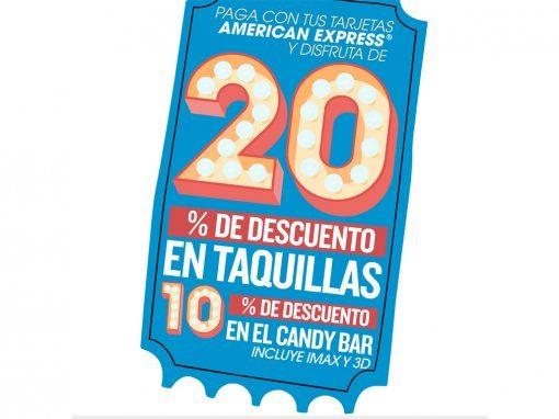 Banners – Progreso Descuento AMEX Cine